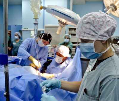 infirmière bloc opératoire